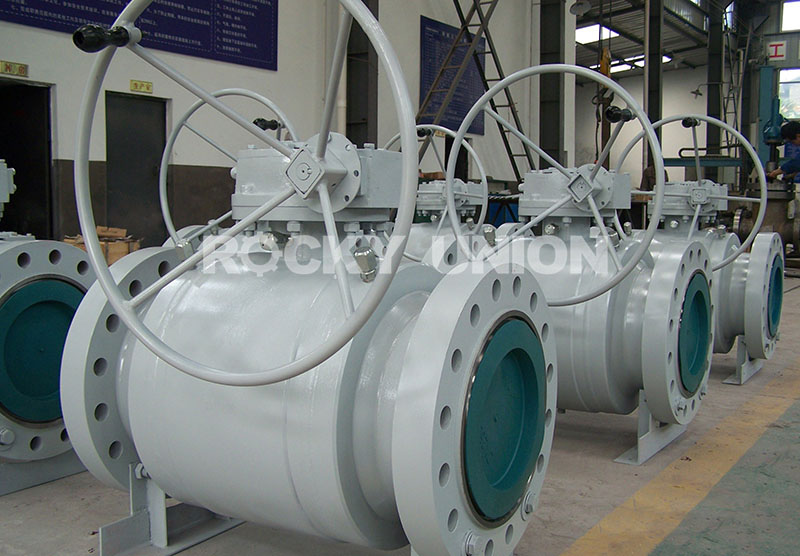 Big Size Forged Truunion Mounted Ball Valve