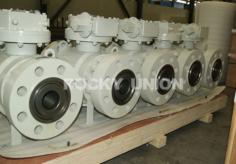 Forged Truunion Mounted Ball Valve