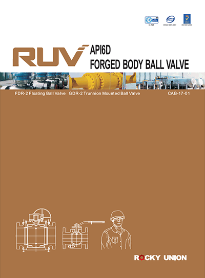 3.RUV Forged Body Ball Valve